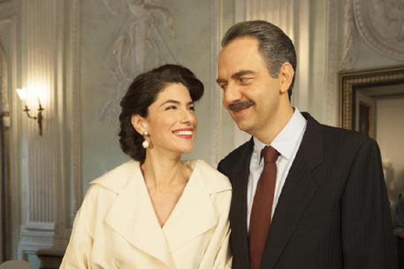 Neri Marcorè insieme a Anna Valle su Rai1 in